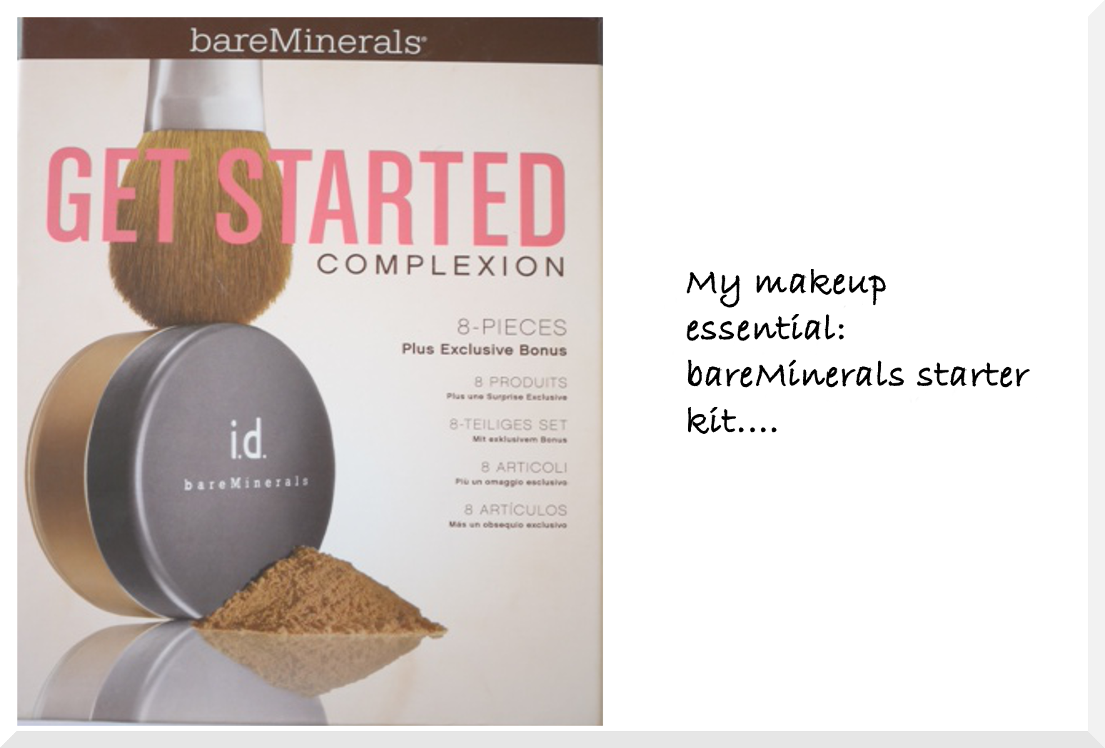My make-up essentials: bareMinerals starter kit - Elegantly Fashionable