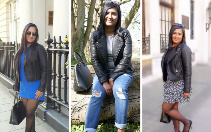 3 ways to wear leather jacket