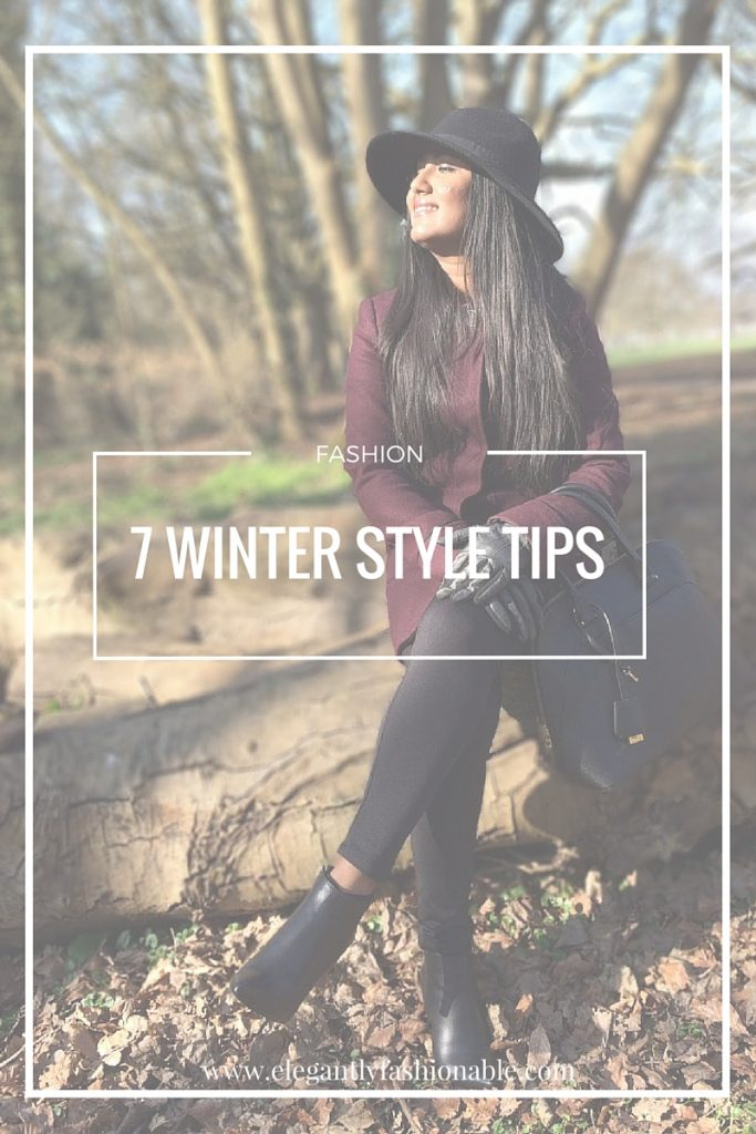 7 Winter Style Tips | Elegantly Fashionable