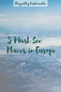 5 Muse See Places in Europe