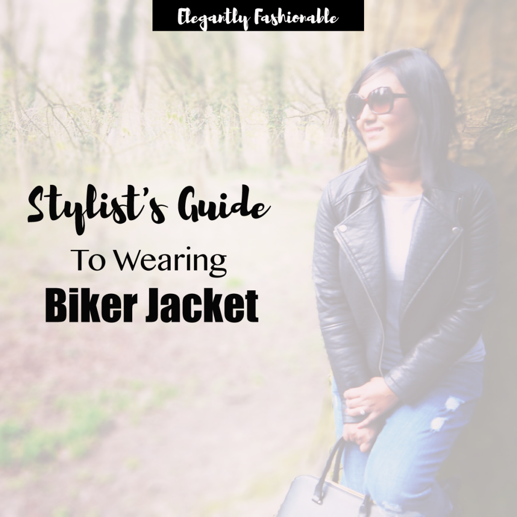 Stylist's guide to wearing biker jacket