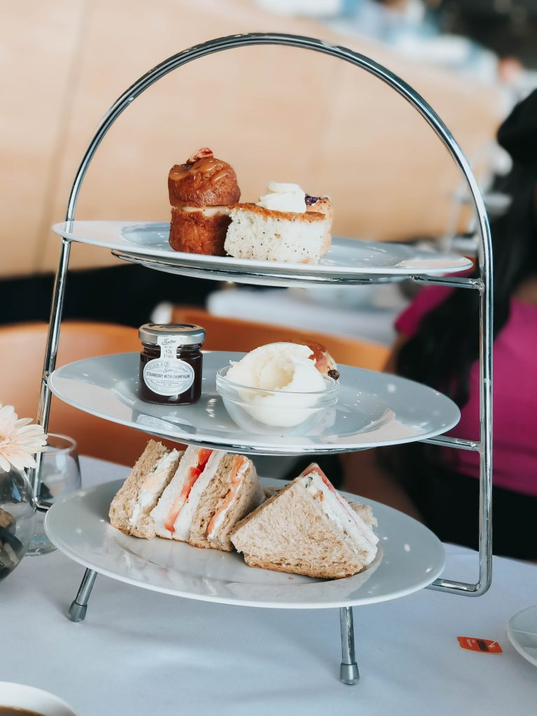 Afternoon Tea at Newmarket Racecourse