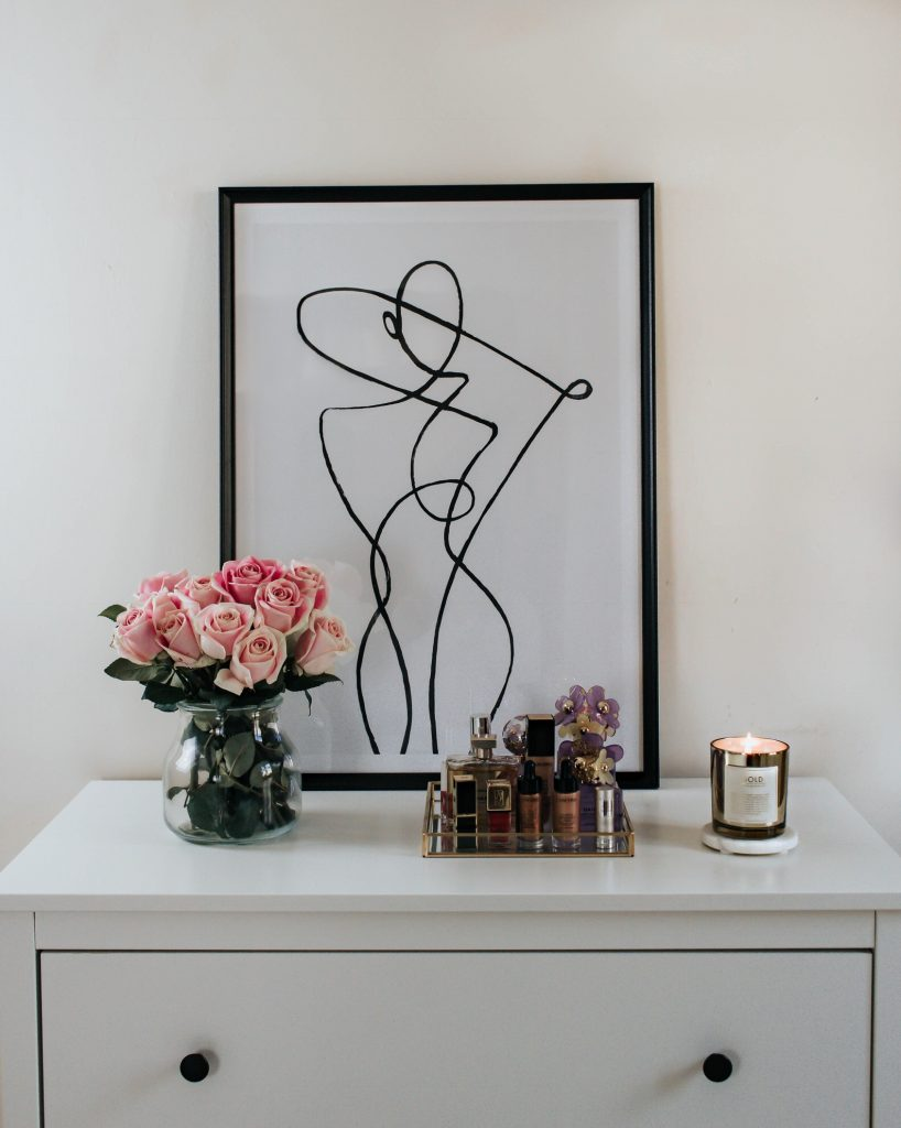 How i glammed my bedroom with desenio prints elegantly for I want to redecorate my bedroom