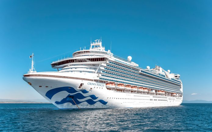 PRINCESS CRUISES| CROWN PRINCE| ELEGANTLY FASHIONABLE